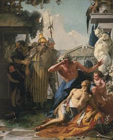 La muerte de Jacinto, Giambattista Tiepolo
