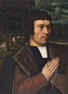 Gentleman Praying, Ambrosius Benson