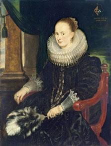 Portrait of Antonia Canis, Cornelis De Vos