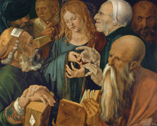 Jesus among the Doctors, Albrecht Dürer