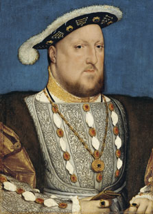 Portrait of Henry VIII of England, Hans Holbein , the Younger
