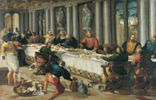 The Last Supper,  Anonymous Venetian Artist active ca. 1570
