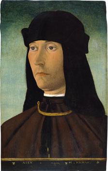 Retrato de Alessandro de Richao, Filippo Mazzola