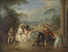 Concert champêtre, Jean-Baptiste Pater