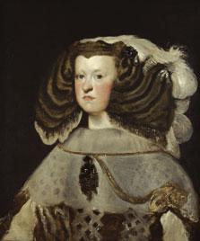 Retrato de doña Mariana de Austria, reina de España, Diego Rodríguez de Silva y Velázquez