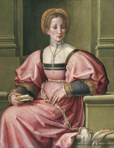 Portrait of a Lady, Pier Francesco Foschi