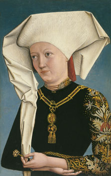 Portrait of a Lady wearing the Order of the Swan,  Anonymous German Artist active at the Court of Ansbach