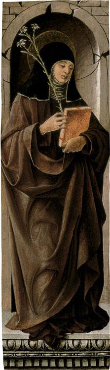 Saint Clare, Francesco del Cossa