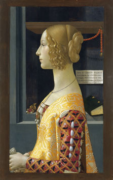 Portrait of Giovanna Tornabuoni, Domenico Ghirlandaio