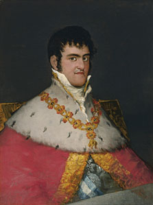 Portrait of Ferdinand VII, Francisco de Goya
