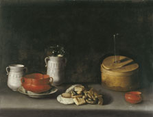 Still Life with Porcelain and Sweets, Juan van der Hamen y León