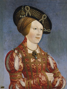 Portrait of Anne of Hungary and Bohemia, Hans Maler