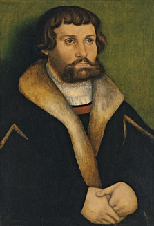 Portrait of a bearded Man, Hans Cranach