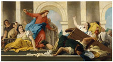 The Expulsion of the Money-Changed  from the Temple, Giandomenico Tiepolo