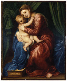 The Virgin and Child,  Titian