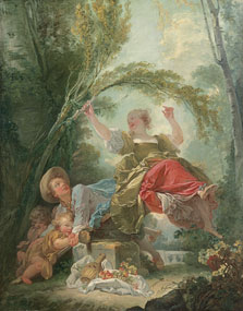 The See-saw, Jean-Honoré Fragonard