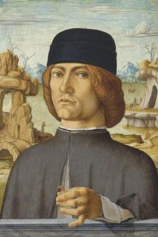 Retrato de un hombre con una sortija, Francesco del Cossa