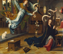 The Annunciation, Jan de Beer