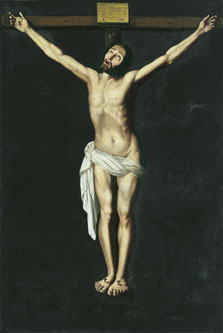 Christ on the Cross,  Zurbarán