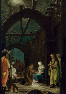 The Adoration of the Magi,  Master of the Thyssen Adoration