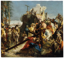 Christ on the Route to Calvary, Giambattista Tiepolo and Workshop
