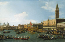 The Bucintoro,  Canaletto