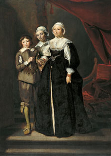 Portrait of Two Women and a Boy, Thomas Hendricksz. de Keyser