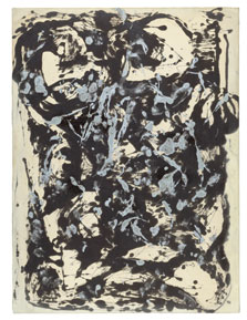 Brown and Silver I, Jackson Pollock