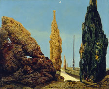 Solitary and Conjugal Trees, Max Ernst