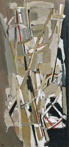 Grey Composition, Nicolas de Staël