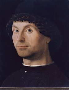 Portrait of a Man, Antonello da Messina