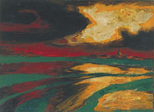 Autumn Evening, Emil Nolde