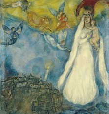 The Madonna of the Village, Marc Chagall