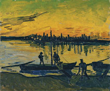 The Stevedores in Arles, Vincent van Gogh
