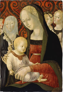 The Virgin and Child with Saint Catherine of Siena and Angels, Francesco di Giorgio Martini