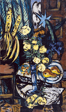 Still life with Yellow Roses, Max Beckmann
