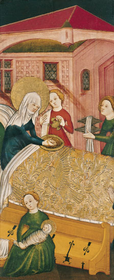 The Birth of the Virgin,  Anonymous German Artist active in Konstanz