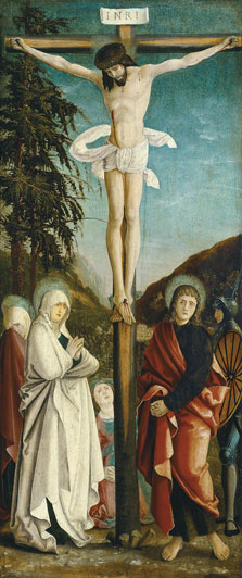 The Crucifixion,  Anonymous German Artist active ca. 1520