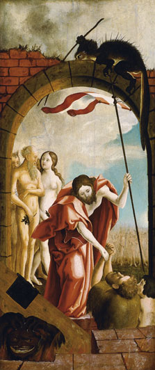 Christ in Limbo,  Anonymous German Artist active ca. 1520