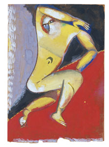 Nude, Marc Chagall