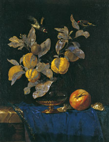 Still Life with Fruit, Willem van Aelst