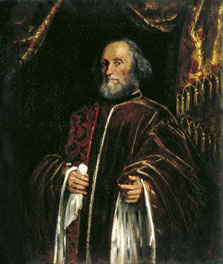 Portrait of a Senator,  Tintoretto