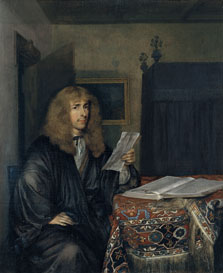 Portrait of a Man Reading a Document, Gerard ter Borch