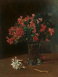 Flower Vase, Wilhelm Trübner