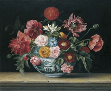 Chinese Bowl with Flowers, Jacques Linard