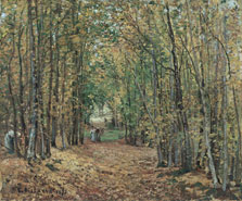 The Woods at Marly, Camille Pissarro