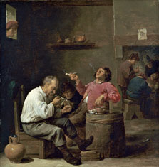 Smokers in an Interior, David Teniers II