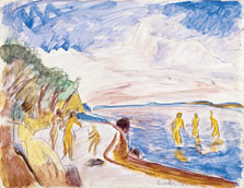 Bathers on the Beach, Erich Heckel