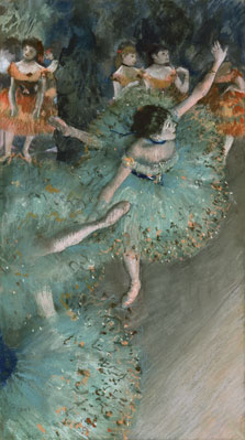 Swaying Dancer (Dancer in Green), Edgar Degas