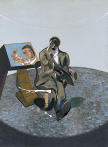 Portrait of George Dyer in a Mirror, Francis Bacon